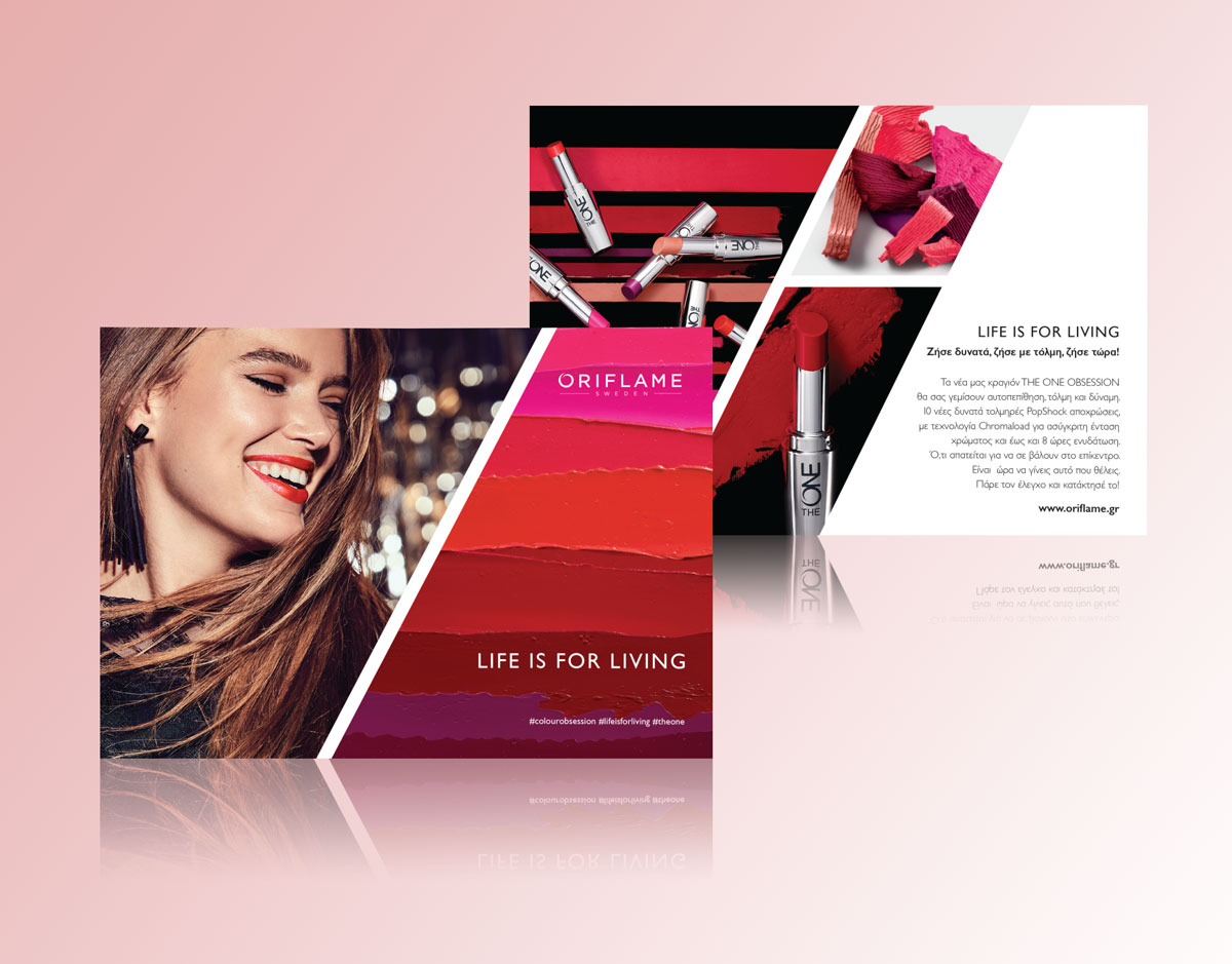 ORIFLAME – obs print advertising – creative solutions 76f141c3a53